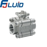 Three-pieces Forged Ball Valve