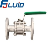 Three-pieces Flanged Ball Valve