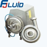 Stainless Steel Sanitary Square Open impeller centrifugal pump