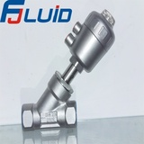 不锈钢头丝扣角座阀Female Threaded Angle Seat Valve