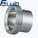 螺纹接头Stainless Steel Sanitary Pipe Fitting Male Part DIN11864