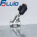 塑料头丝扣角座阀Plastic Head Female Threaded Angle Seat Valve