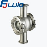 Stainless Steel Sanitary Ball Type Sight glass