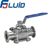 快装三片式球阀TC 3 pcs ball valve