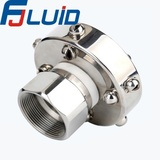 内螺纹360°清洗器stailess steel sanitary threaded female 360° clean ball valve