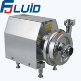 Stainless Steel Sanitary Square Close impeller centrifugal pump