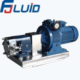sanitary stainless steel rotary lobe pump