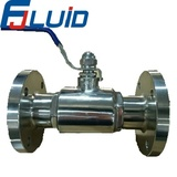 法兰球阀flange 3 pcs ball valve