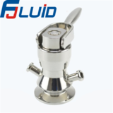 Stainless Steel Sanitary Foode Processing Aseptic Sampling Valve