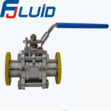 Three-pieces Clamp Manual Ball Valve