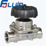 Clamped Manual Diaphragm Valve
