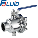 Clamped Portable Ball Valve