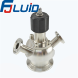 Stainless Steel Food Processing Diaphragm Simple Valve