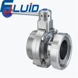 Stainless Steel Sanitary Union Type Butterfly Valve