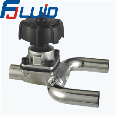 U型隔膜阀Sanitary Stainless Steel U-type Diaphragm Valve