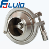 Stainless Steel Sanitary Welded Middle-clamped Check Valve