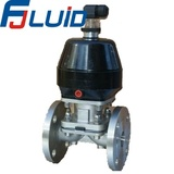 卫生级不锈钢法兰隔膜阀Sanitary Stainless Steel Flanged Diaphragm Valve
