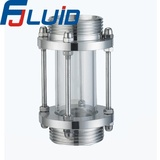 Stainless Steel Sanitary Tubular Male Threaded Sight glass