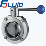 对焊蝶阀Welded butterfly valve