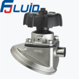 卫生级不锈钢罐底隔膜阀Sanitary Stainless Steel Tank Bottom Diaphragm Valve