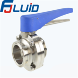 快装蝶阀Tri-clamp butterfly valve